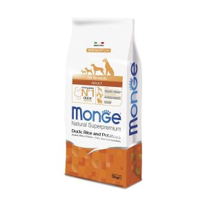 MONGE CANE SUPERPREMIUM ALL BREED ANATRA RISO PATATE 2,5KG